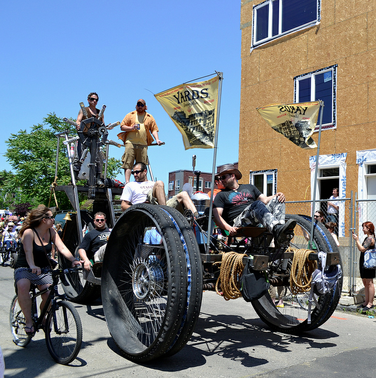 Eyes on the Street: Kensington Kinetic Sculpture Derby celebrates human-powered transit