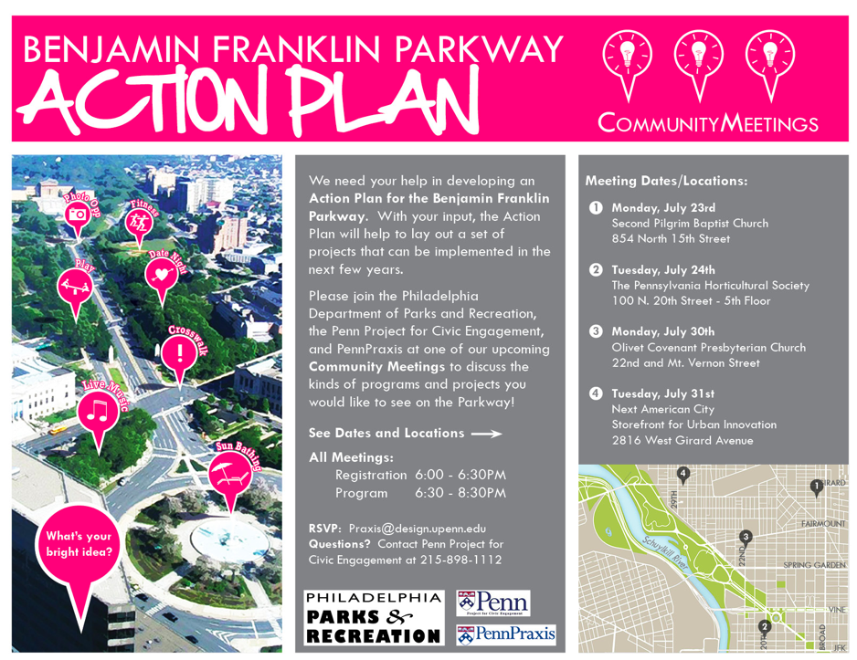 Action Plan for the Benjamin Franklin Parkway