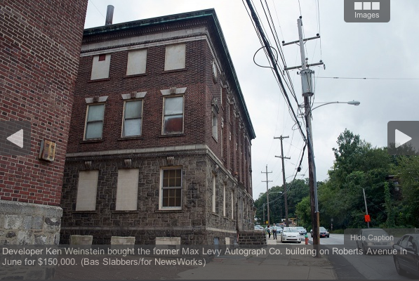 Developer Ken Weinstein bought the former Max Levy Autograph Co. building on Roberts Avenue in June for $150,000. (Bas Slabbers)