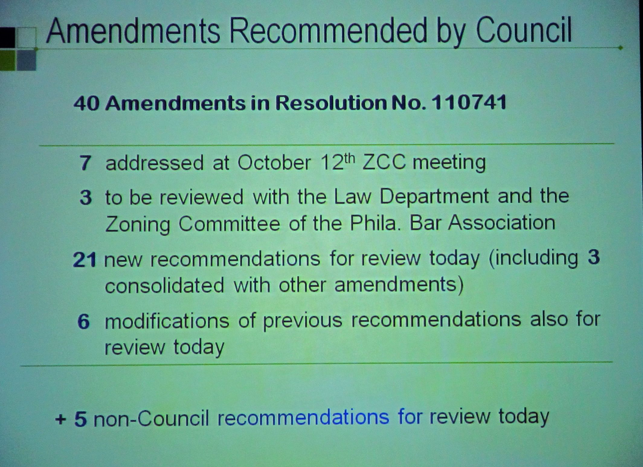 Zoning Code Commission holds its second-to-last meeting - probably