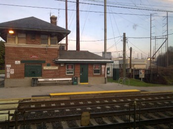 Holmesburg Junction Station in December 2011. Photo/Shannon McDonald