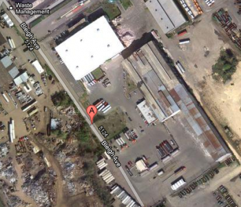 Waste Management plans to add to its Holmesburg facility. Image/Google Maps