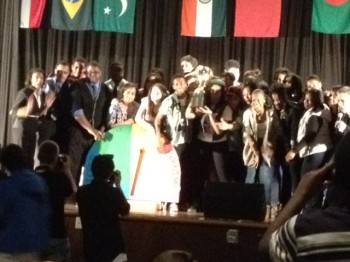 Students were the winners at the 2012 Northeast High School Talent Show. Photo/Christopher Wink