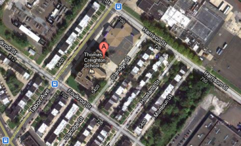 Thomas Creighton School will not become a charter. Image/Google Maps
