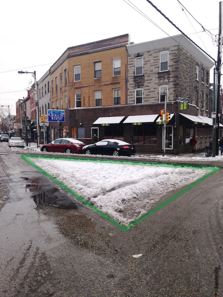 12th and E. Passyunk sneckdown