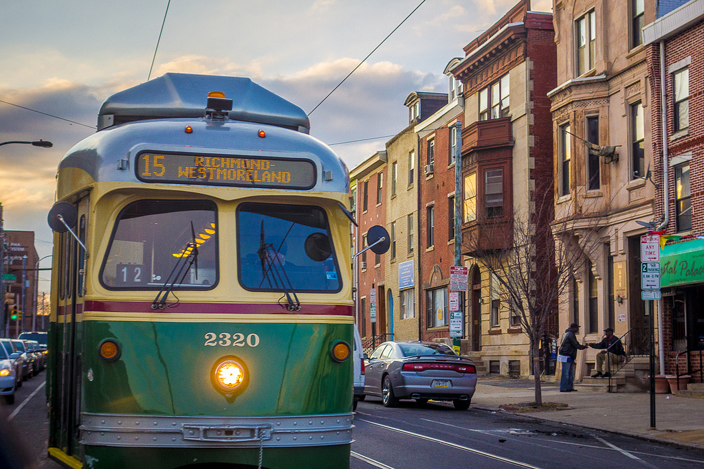 15 Trolley, 15th and Girard | Theresa Stigale