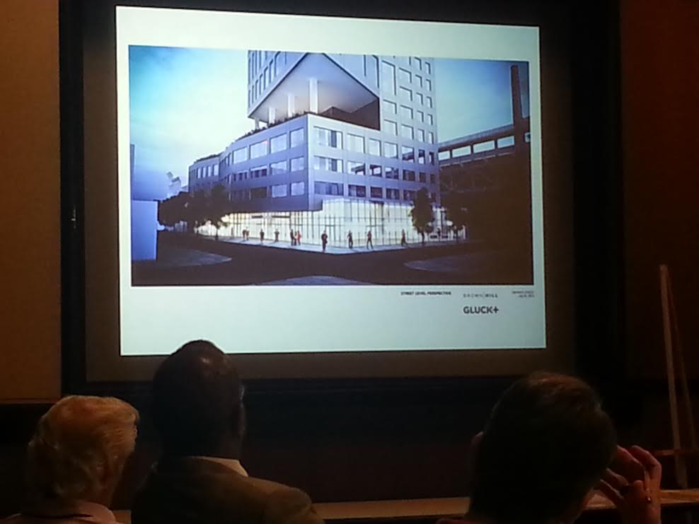 205 Race Street rendering shown at Civic Design Review