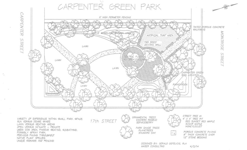 Carpenter Green plans | Gerald DeFelicis, Maser Consulting