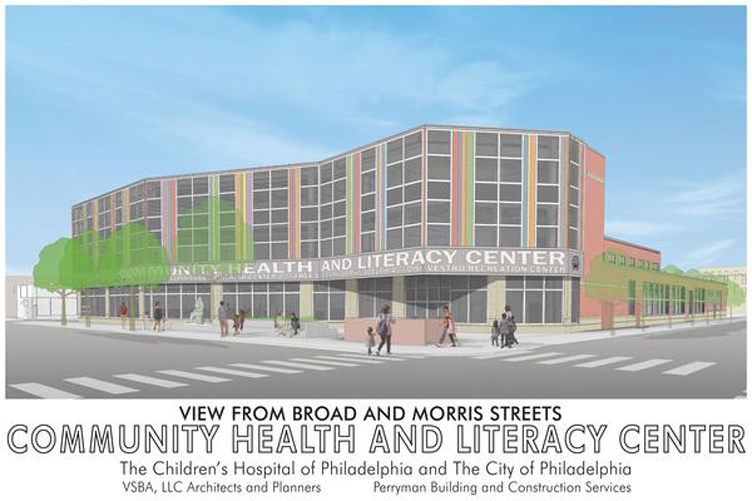 Community Health and Literacy Center rendering