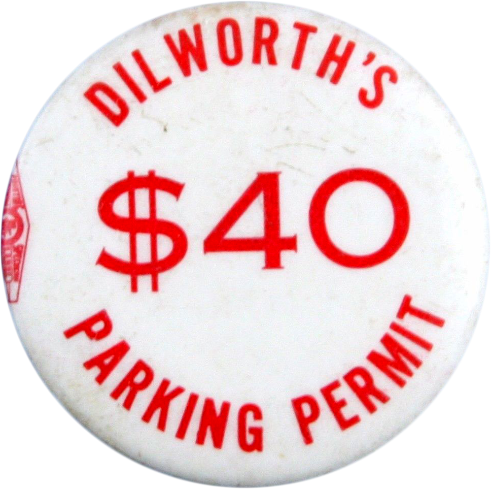 Dilworth's $40 parking permit