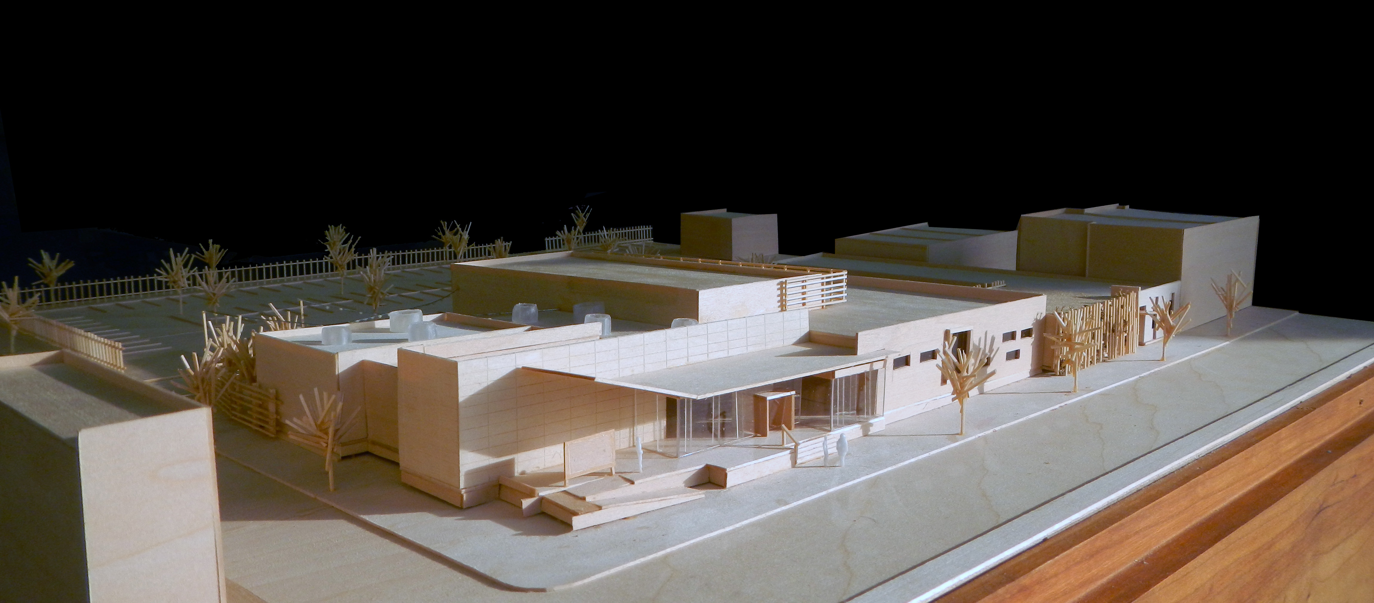 El Corazón Cultural Center model | courtesy of WRT