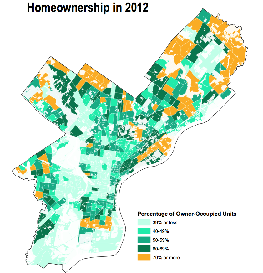 Homeownership in 2012