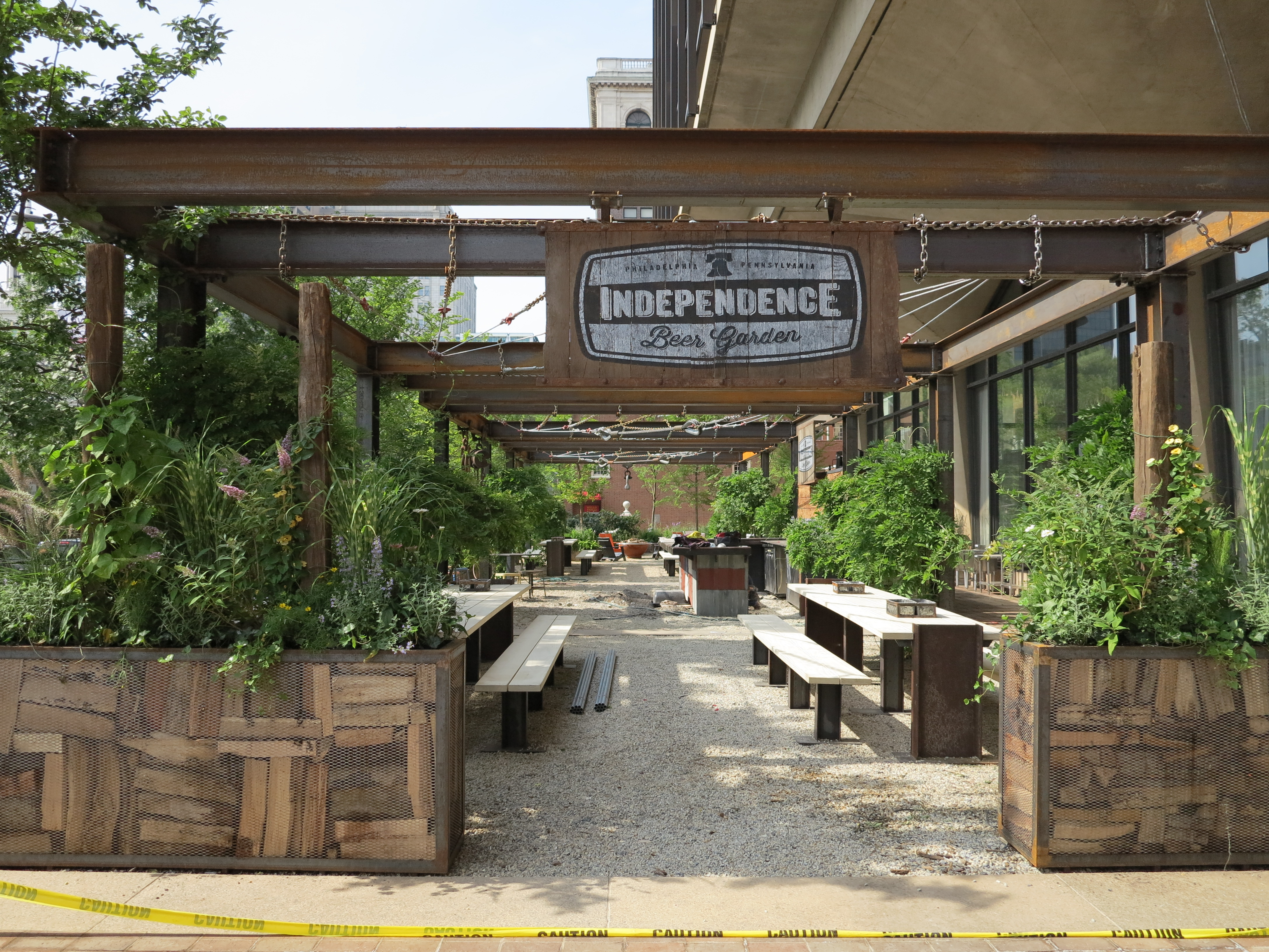 SPOTTED: Pop-up spaces sprout, tree seats, Wistar reveal