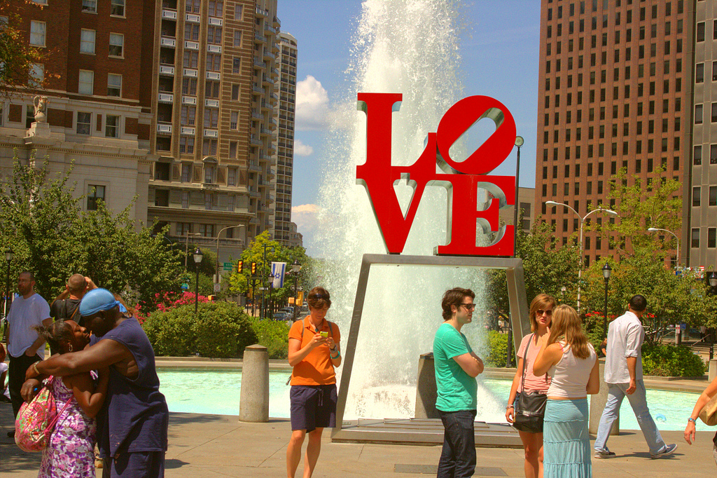 LOVE Park, August 2012 | (c) Bob Bruhin, all rights reserved