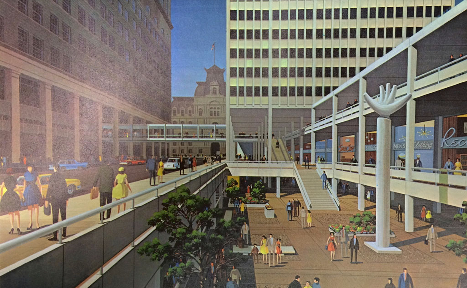 Market East rendering