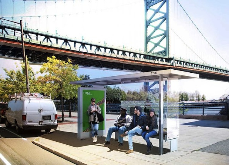 New Bus Shelters
