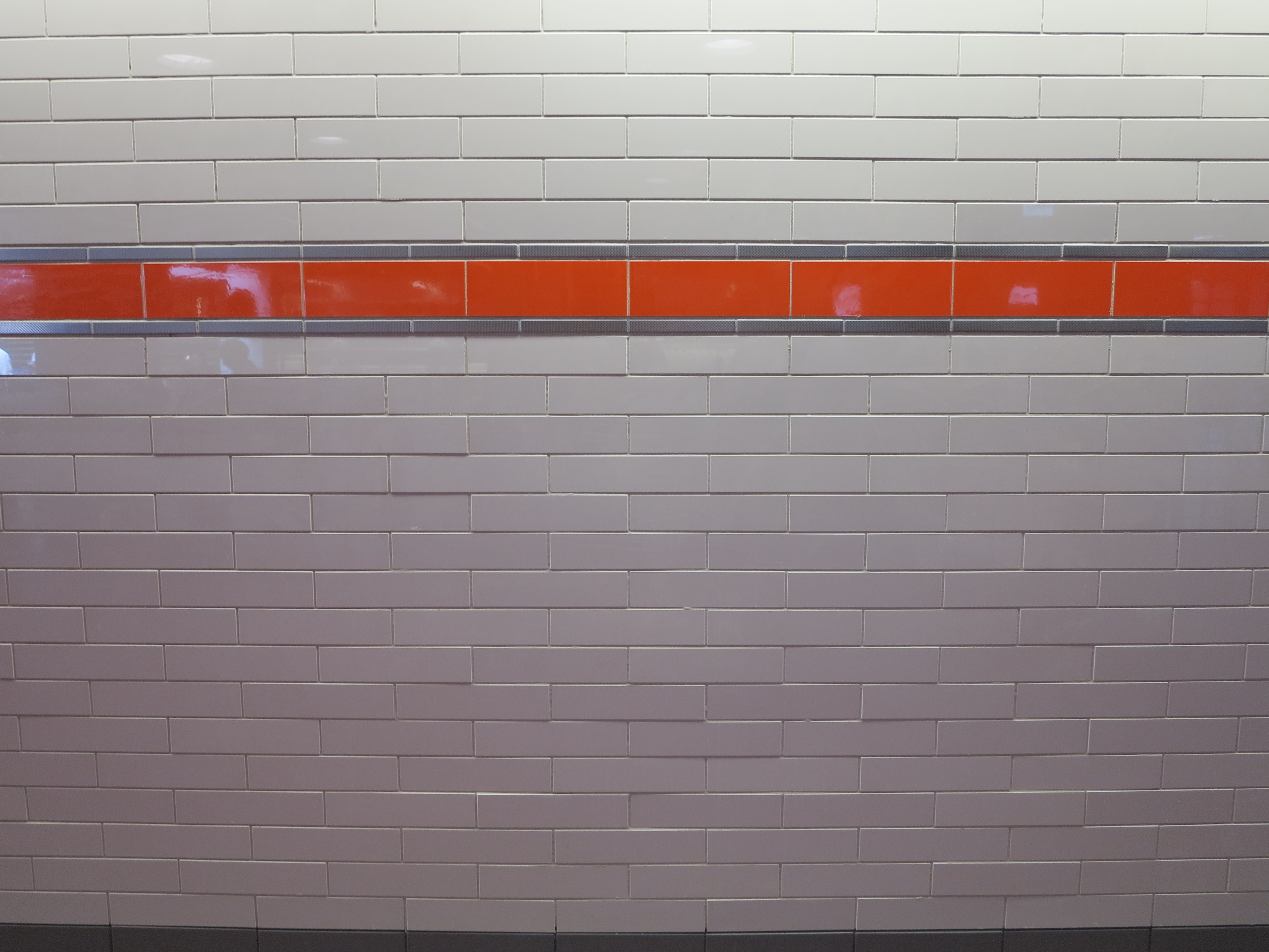 SEPTA's newly tiled City Hall Station wall