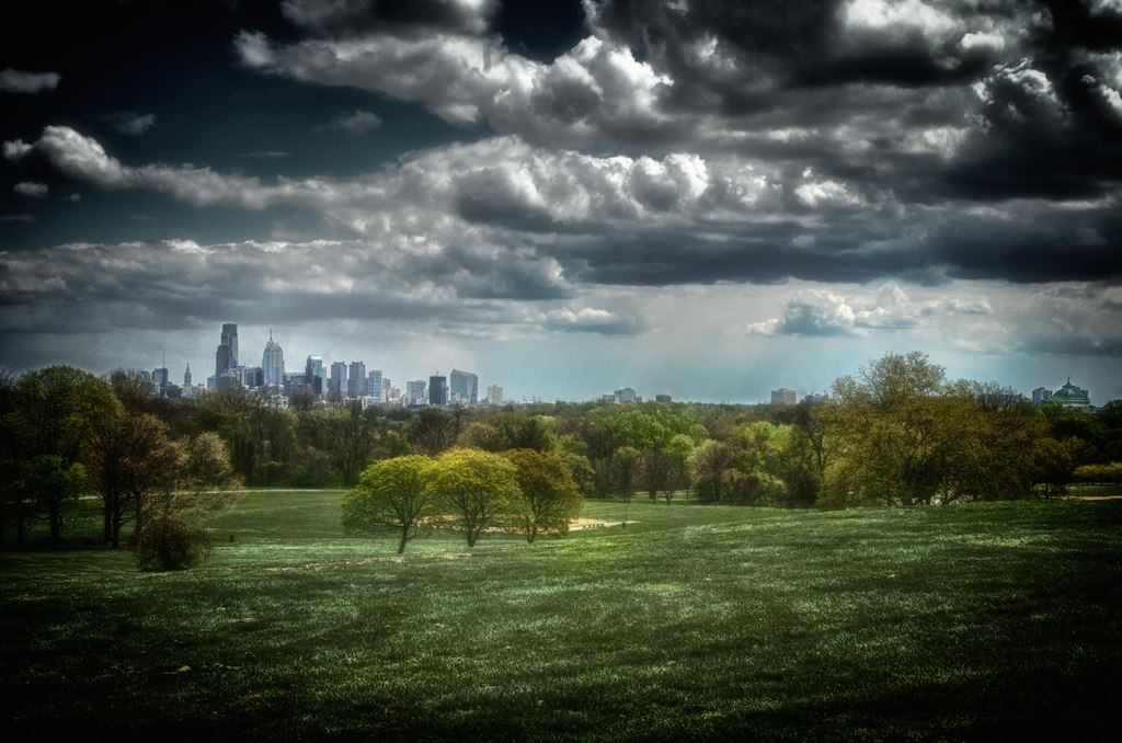 Skyline from Belmont Plateau | Gary Reed, EOTS Flickr Group