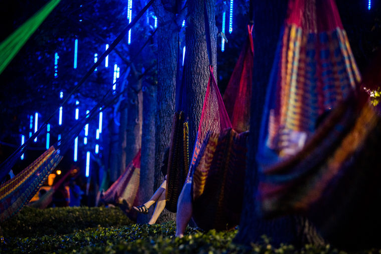 Spruce Street Harbor Park hammock grove | Matt Stanley, courtesy of DRWC