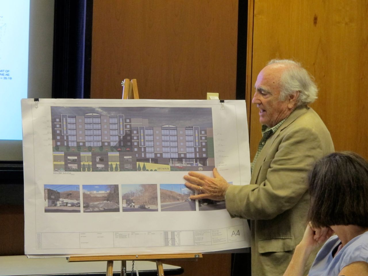 Stephen Goldner presents Manayunk Main Street plan