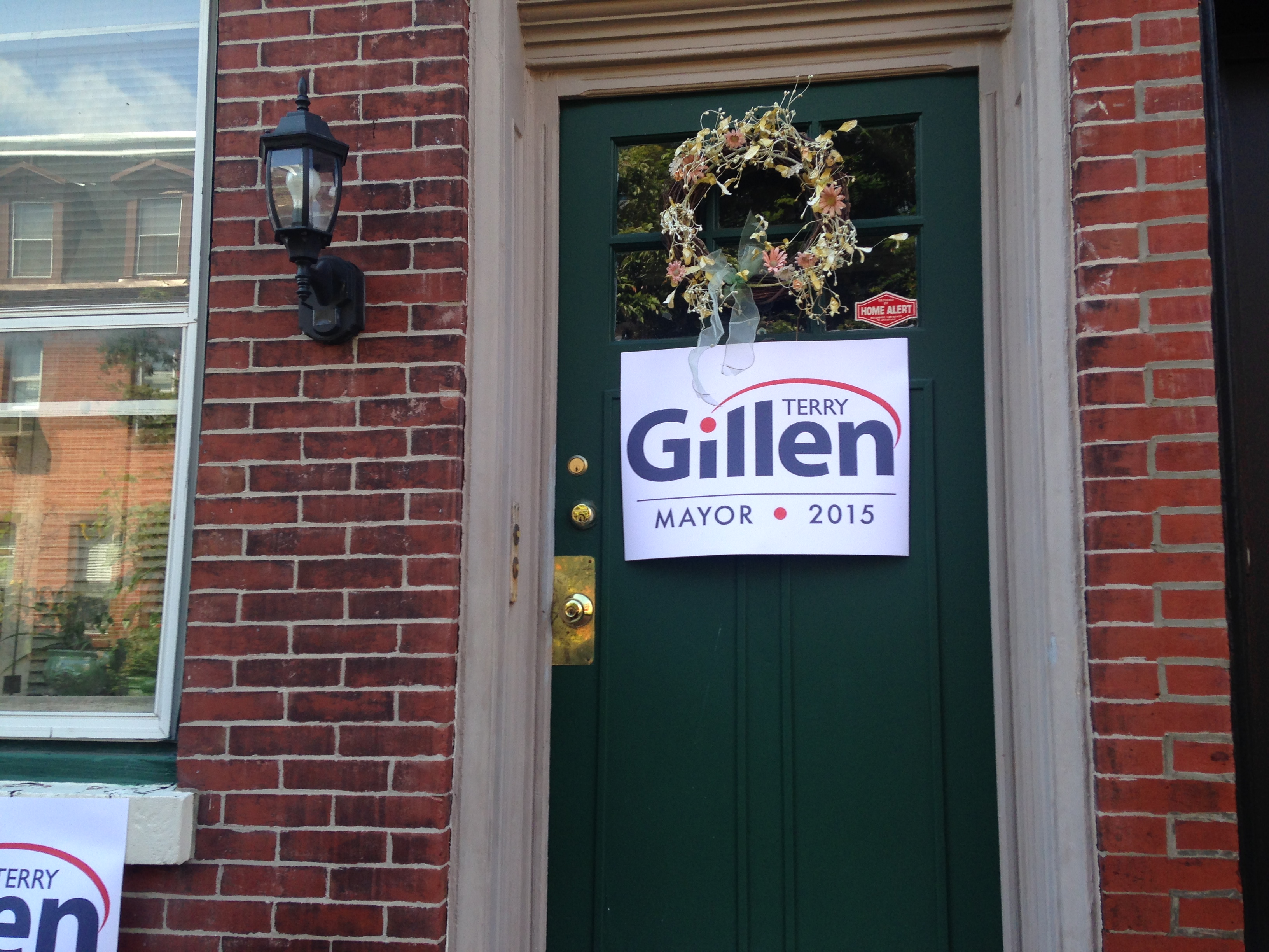 Terry Gillen yard sign