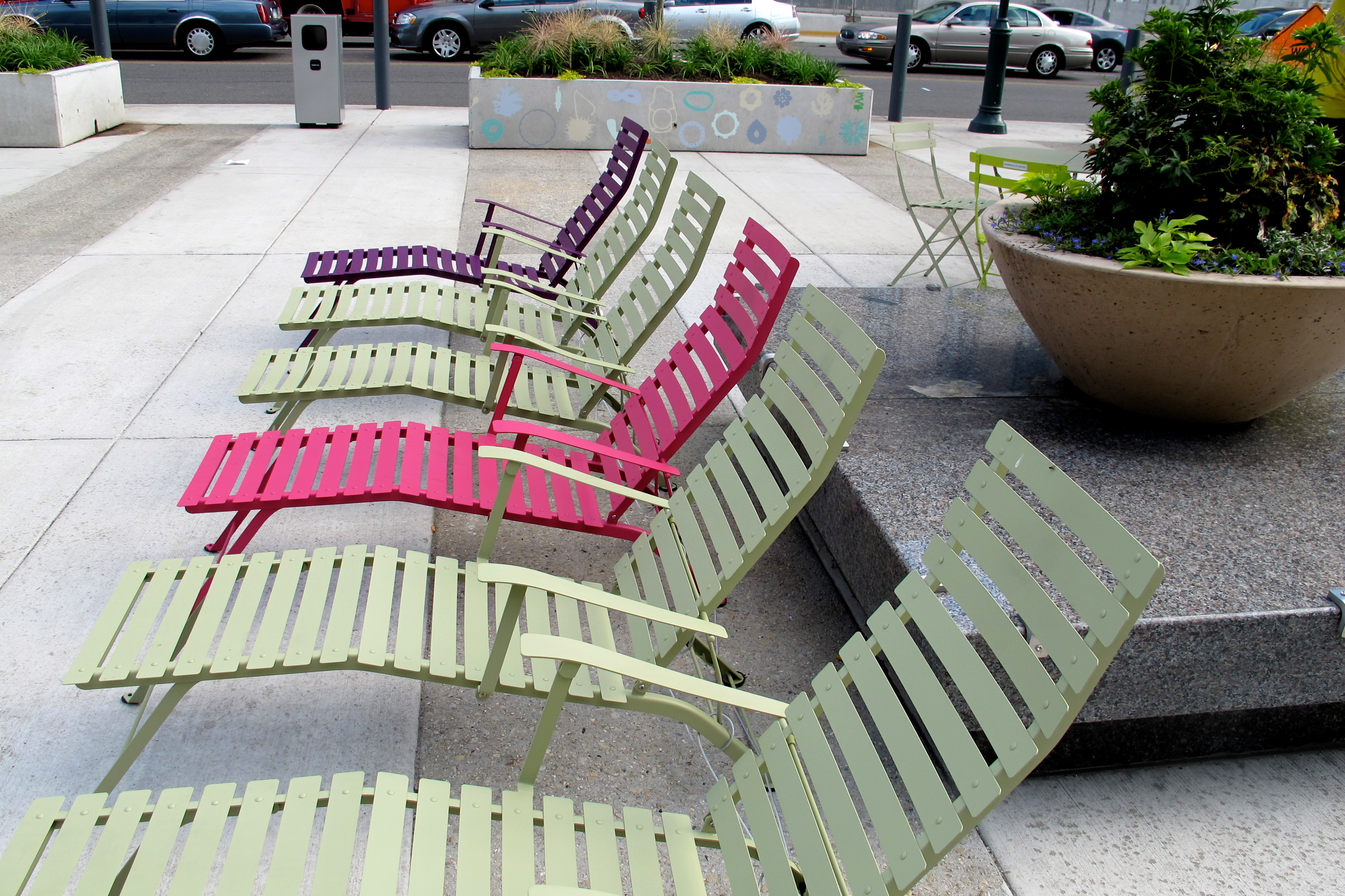 The Porch lounge chairs