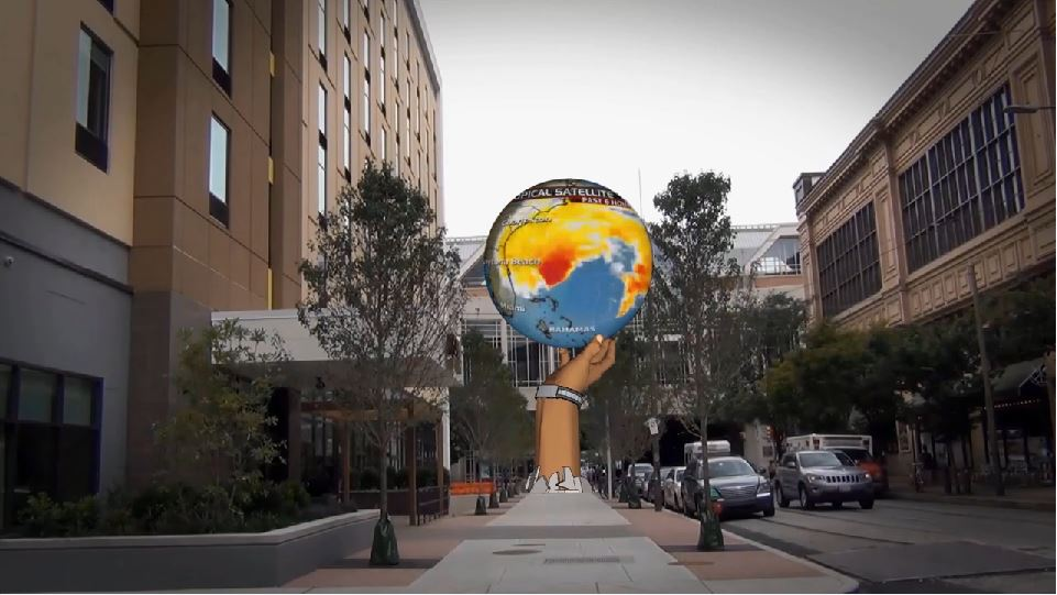 Urban Experiential Display - Screenshot from promotional video | Catalyst Outdoor
