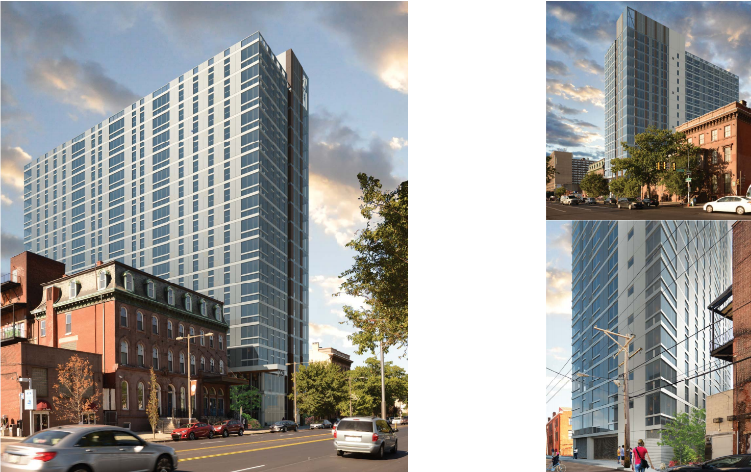 1324 N. Broad: Renderings | Cecil Baker + Partners, Nov. 2016 CDR presentation