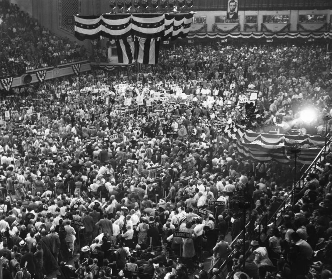 1948 Republican National Convention in Philadelphia | Evening Bulletin | Special Collections Research Center, Temple University Libraries, Philadelphia, PA