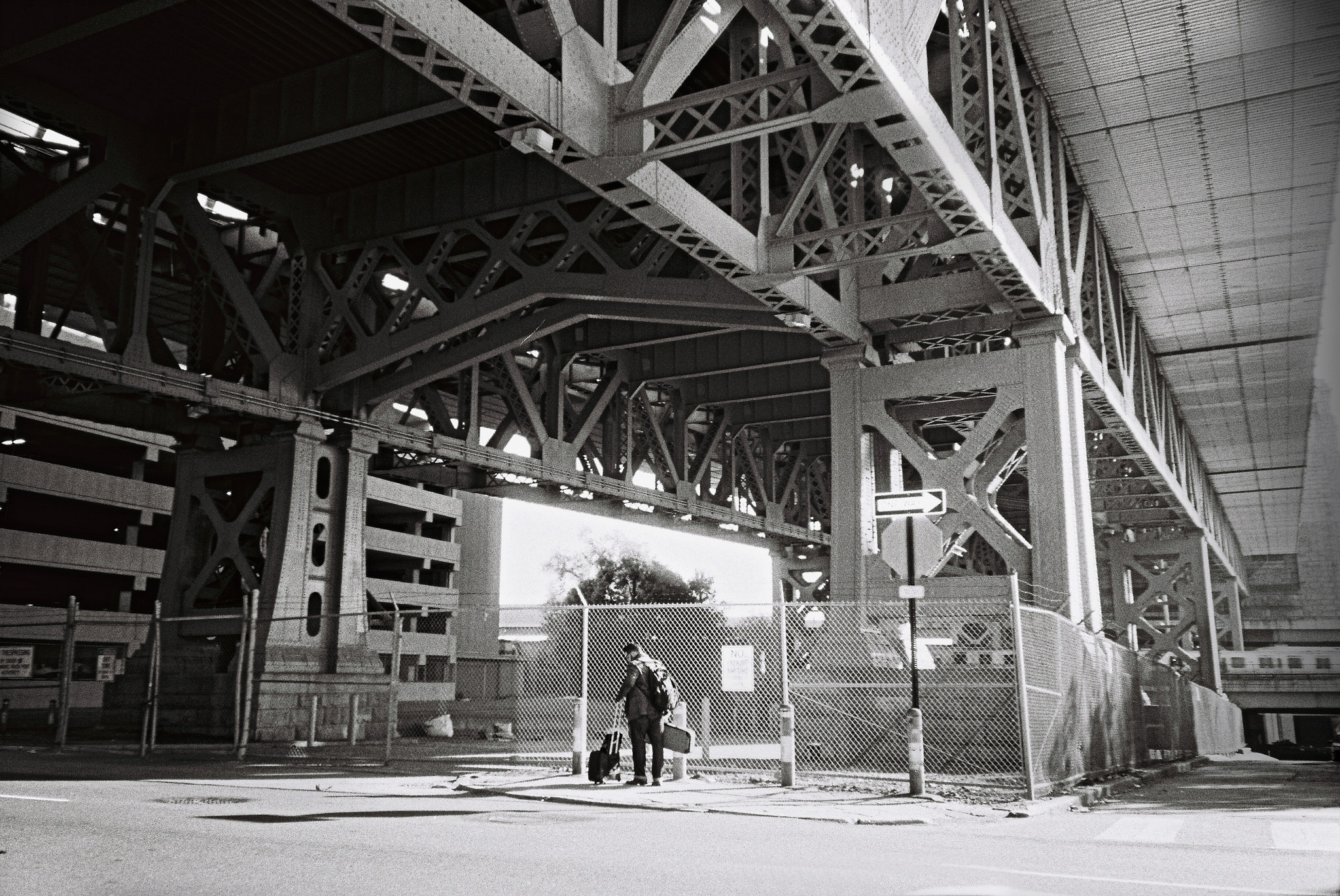 Below Benjamin Franklin Bridge | David Swift, EOTS Flickr Group
