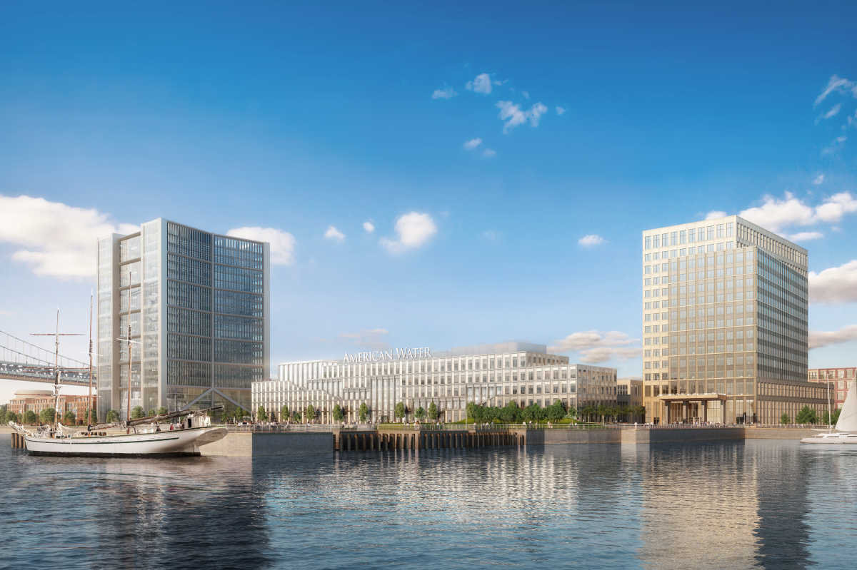 Camden waterfront rendering | Robert A.M. Stern Architects