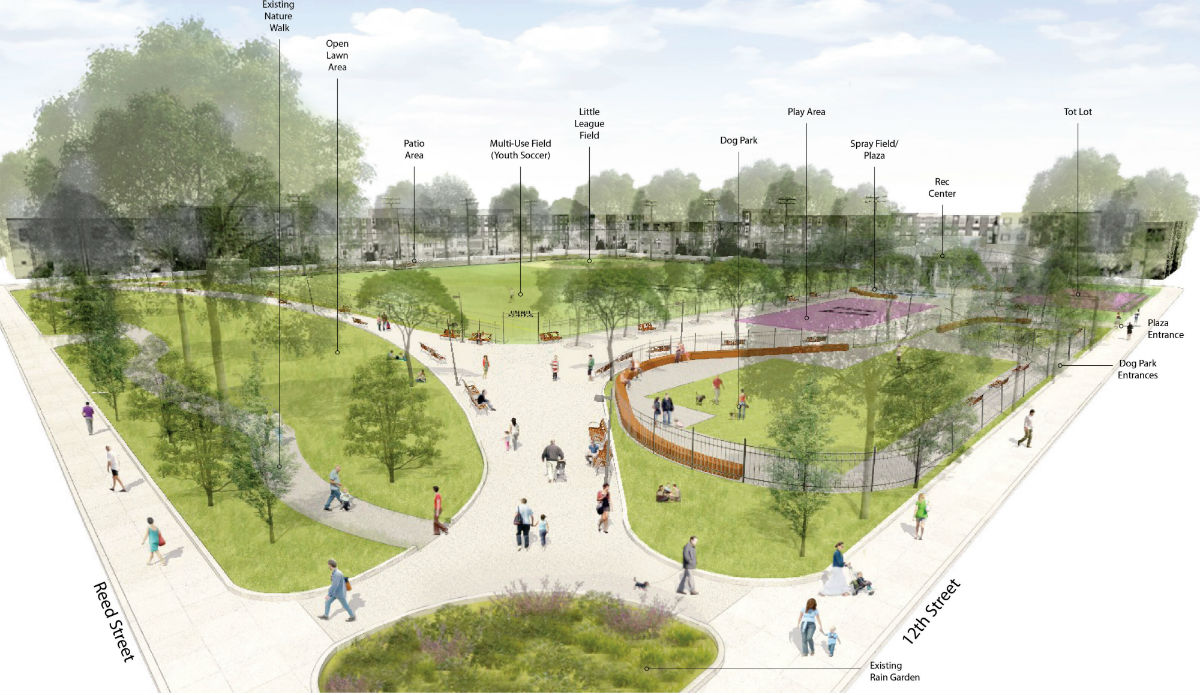 Columbus Square Park Redesign | Community Design Collaborative