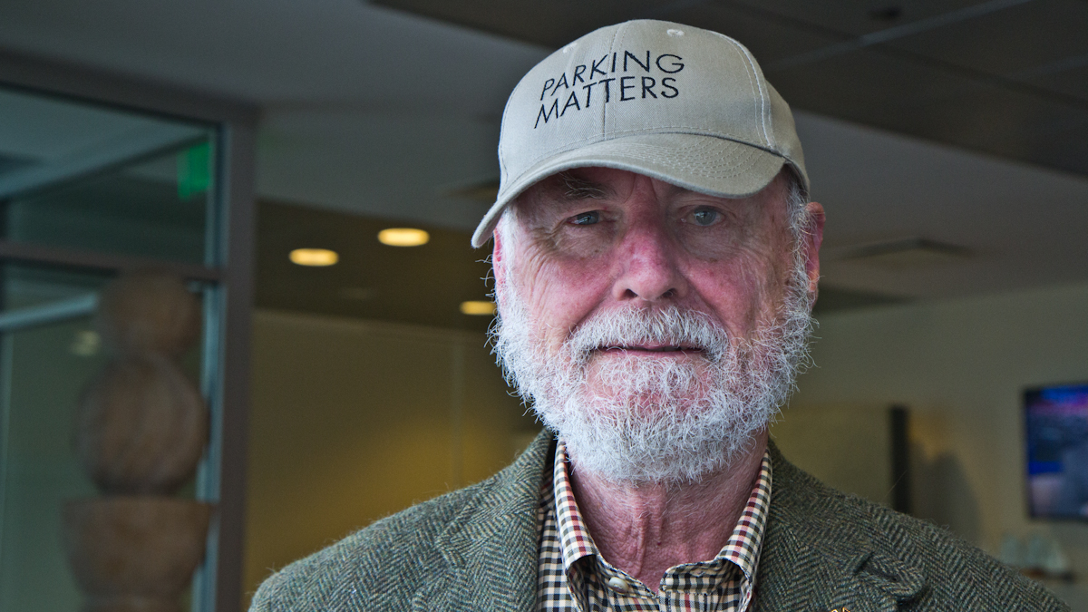 Donald Shoup, author of The High Cost of Free Parking.