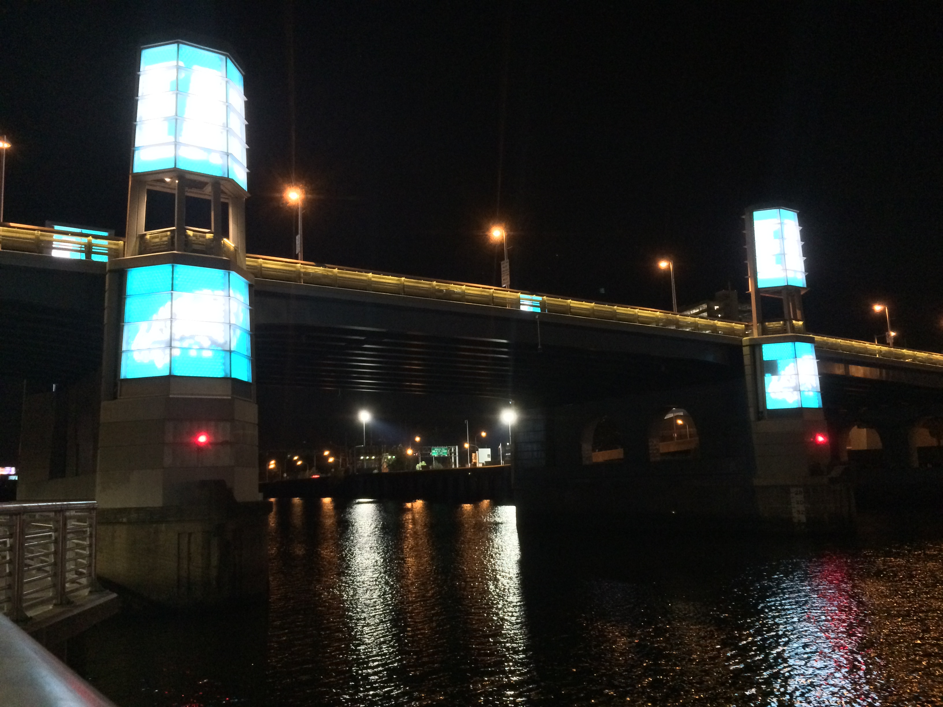Eagles ad on South Street Bridge | Timothy Kerner
