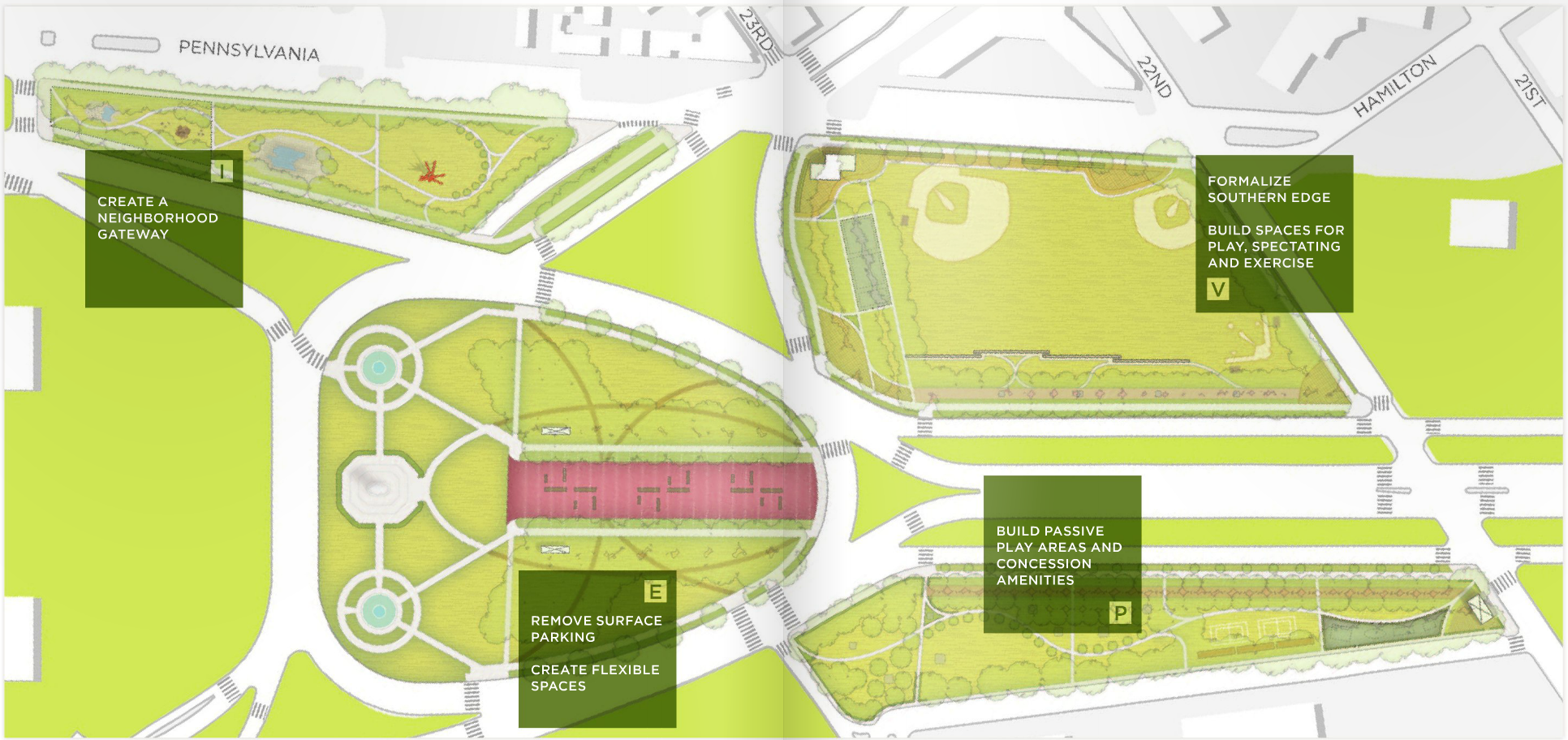 More Park, Less Way: Eakins Oval