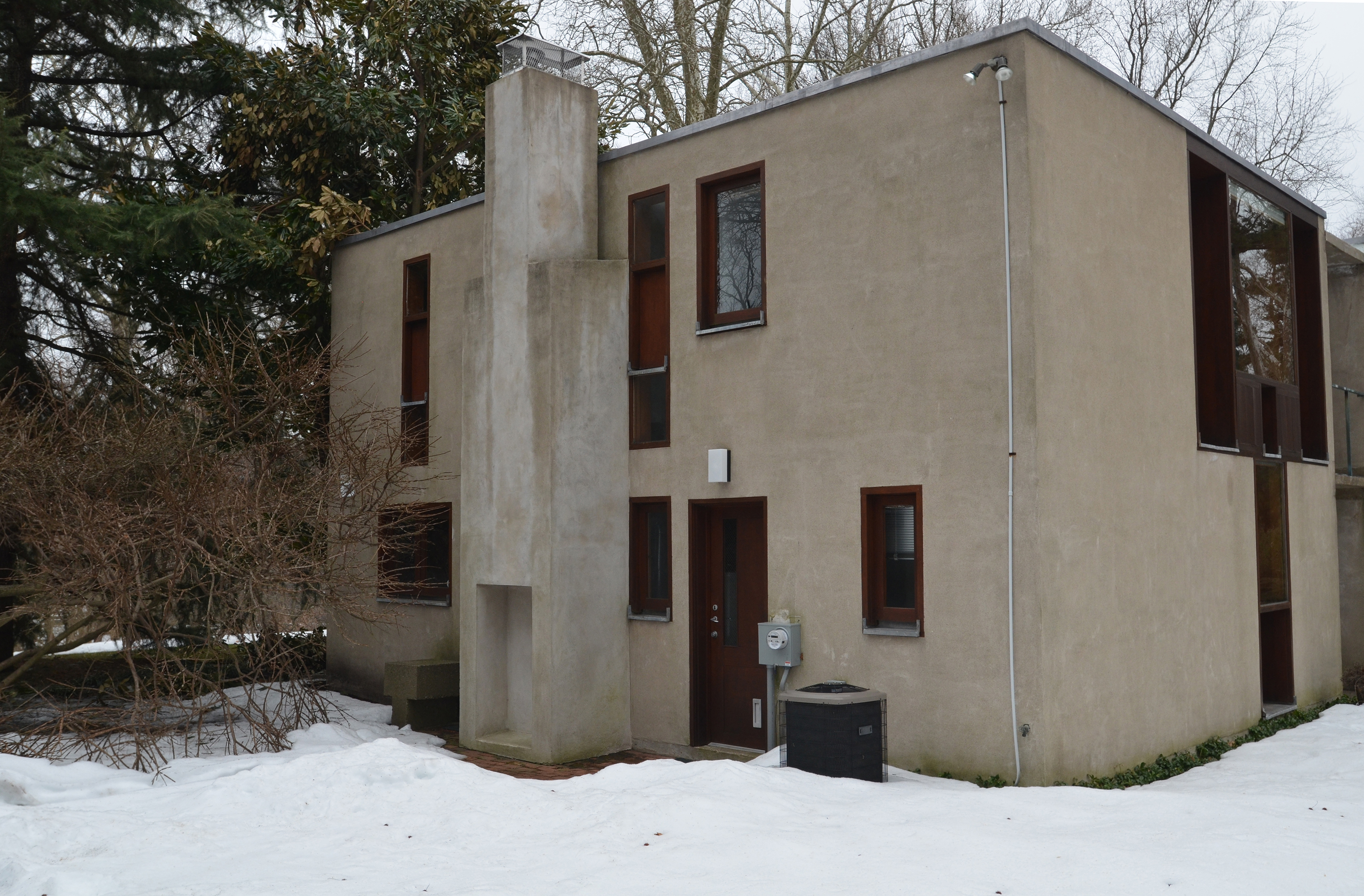 Esherick House, before renovation | courtesy of owner