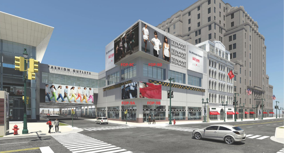 Fashion Outlets of Philadelphia signage proposal | Planning Commission, Sept. 2015