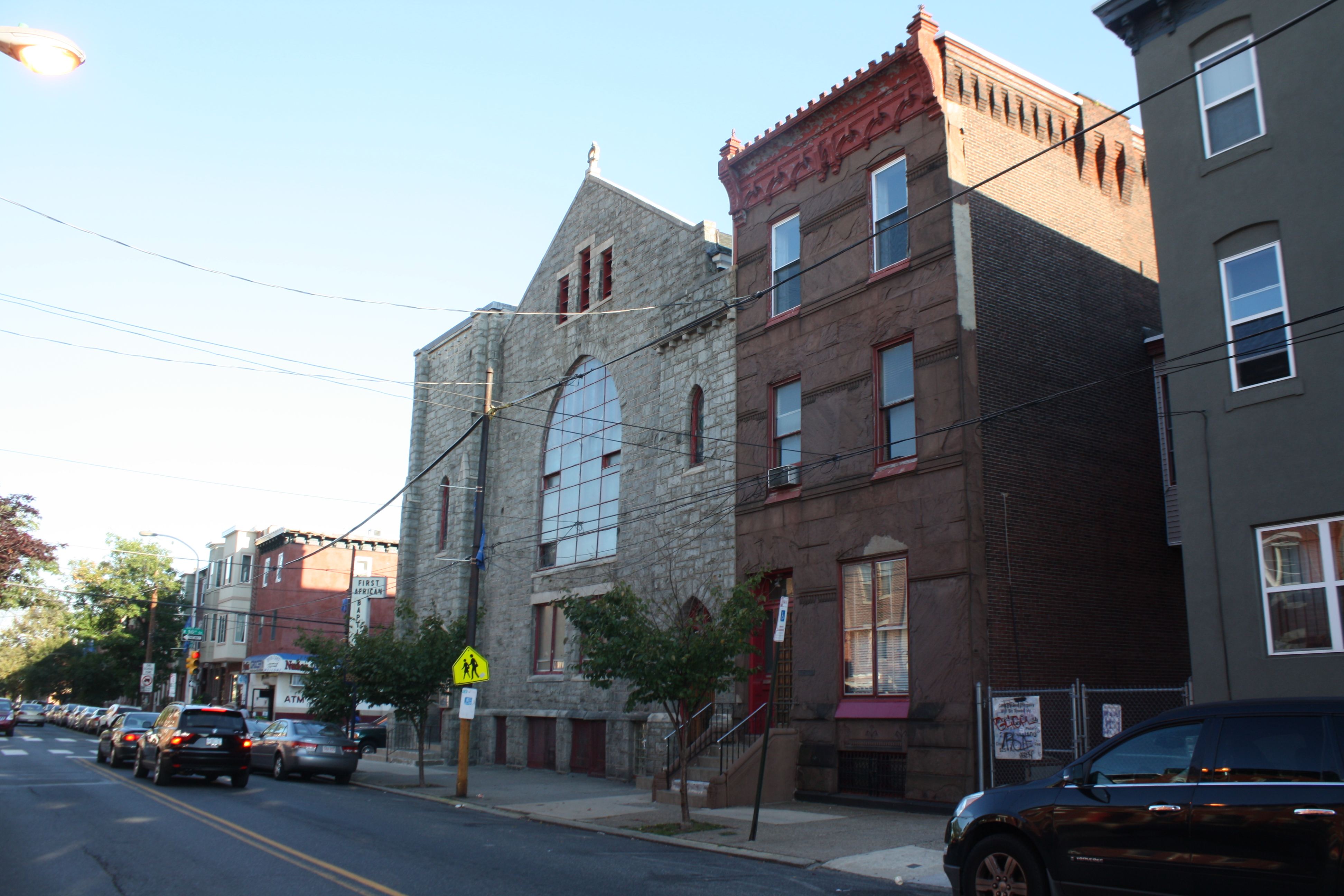 The First African Baptist Church was designated by the city as historic in 2015 (Jared Brey)