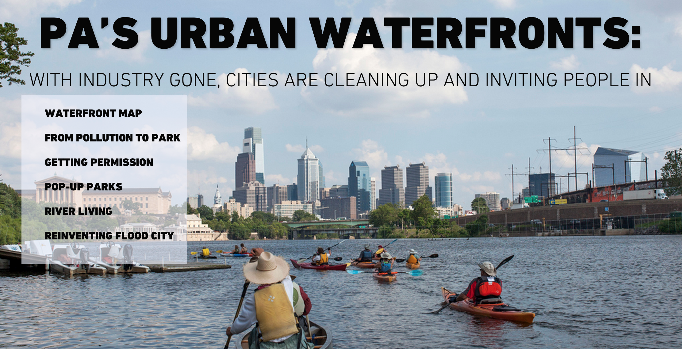 Keystone Crossroads Special Report: Pa's Urban Waterfronts