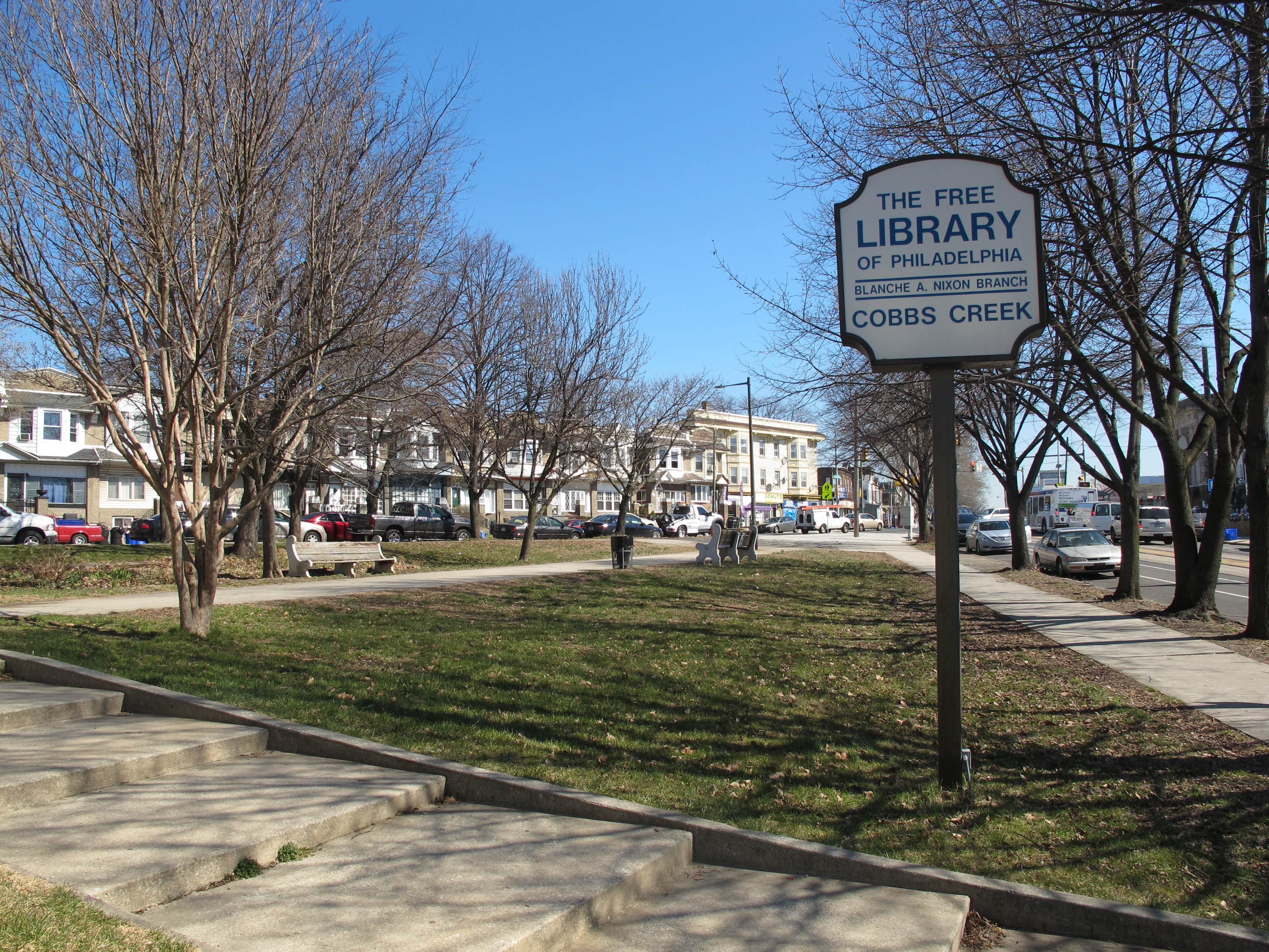 Learning Landscapes: Blanche A. Nixon / Cobbs Creek Branch Library