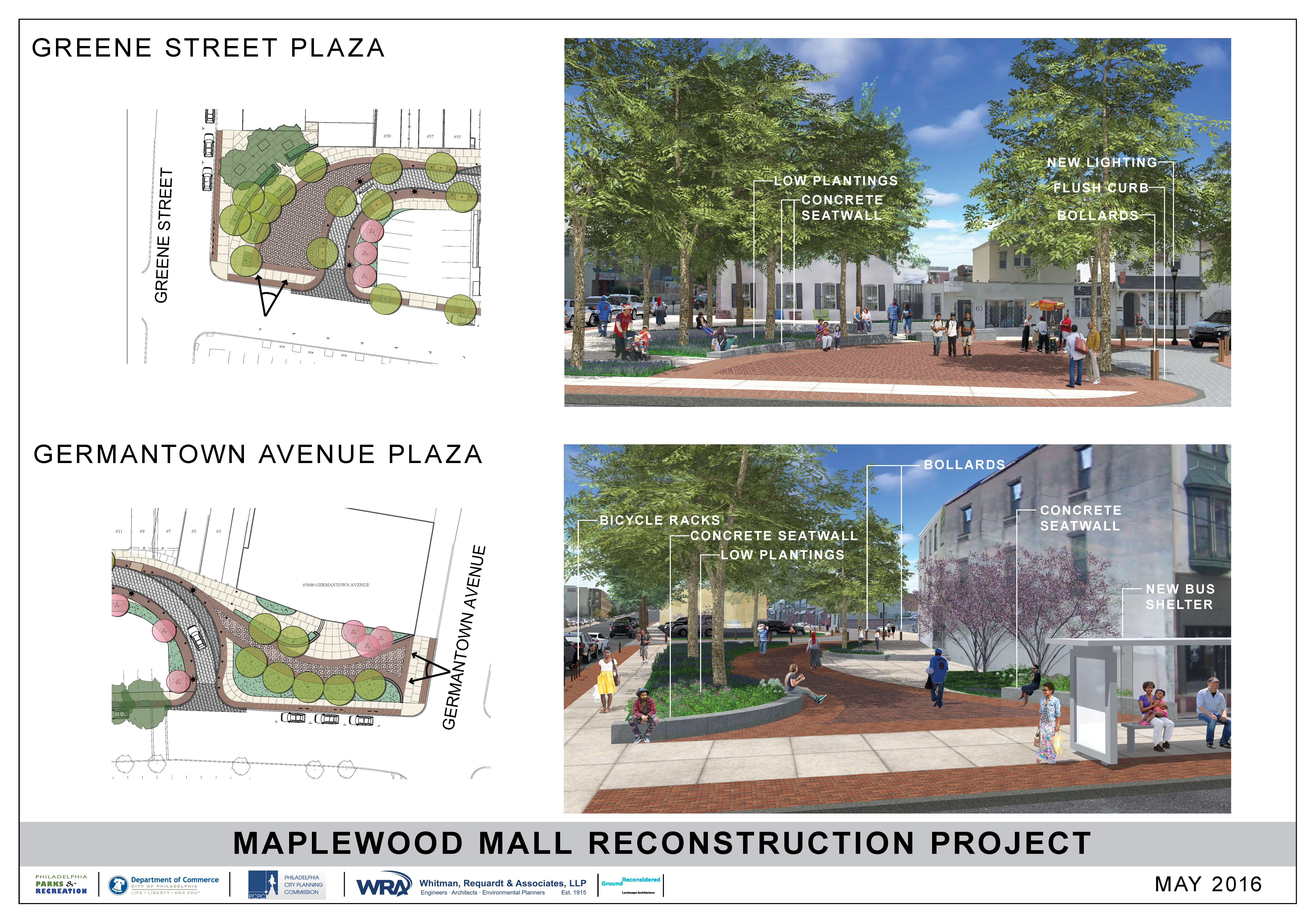 Maplewood Mall proposed reconstruction plan | WRA and Ground Reconsidered
