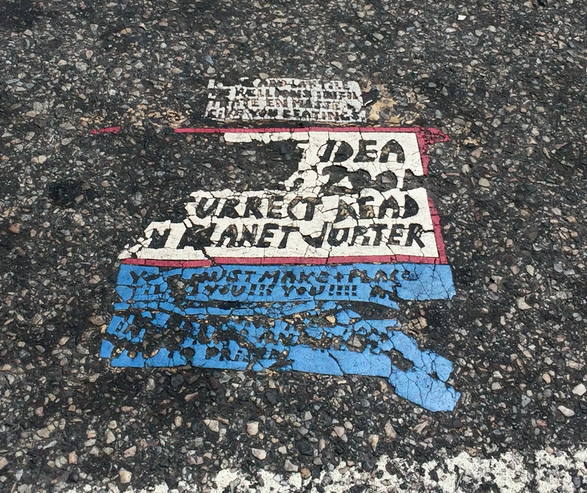 Toynbee Tile at 34th and Chestnut