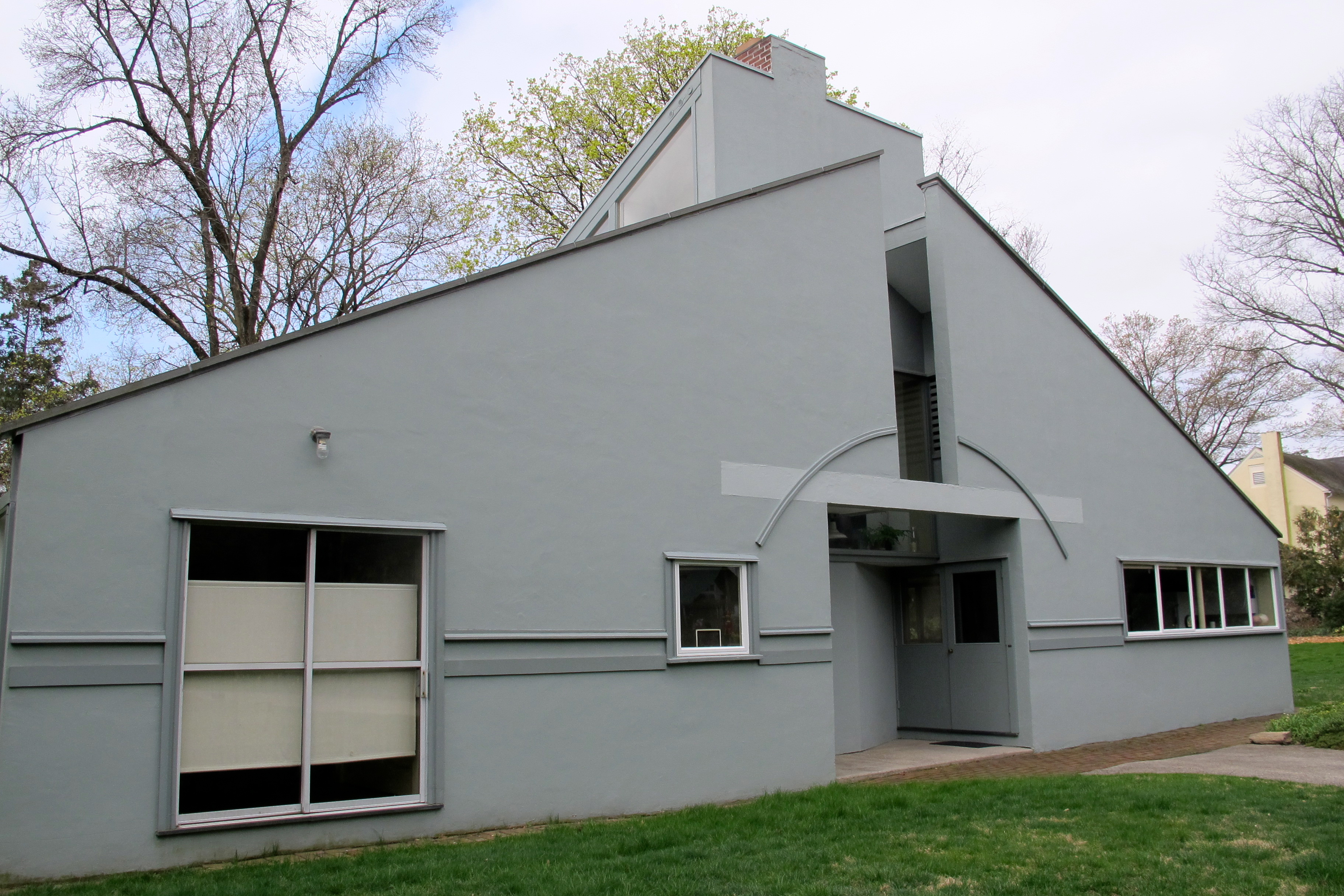 Vanna Venturi House was designated by the city as historic in 2016