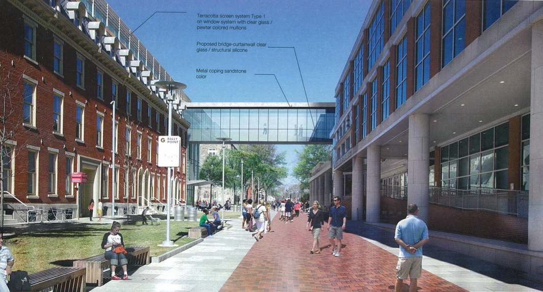 1810 Liacouras Walk proposed addition, March 2017