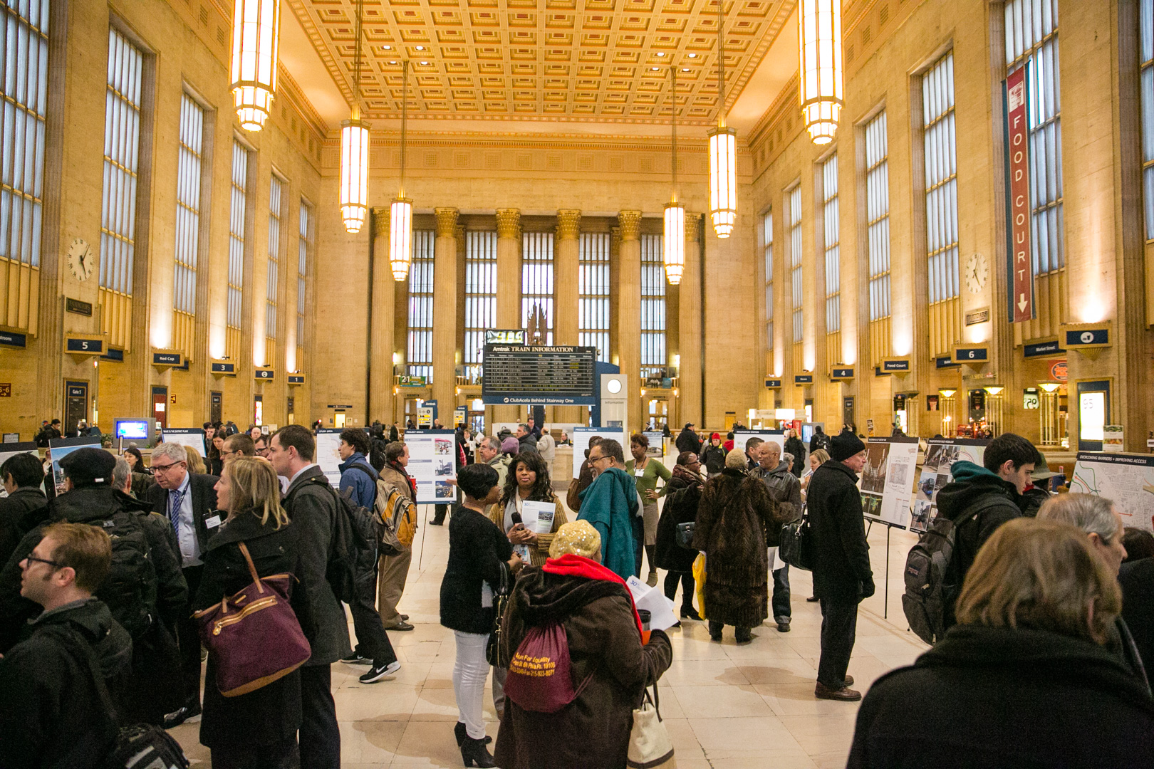 The main hall of 30th St. Station. (Courtesy Amtrak/Chuck Gomez)