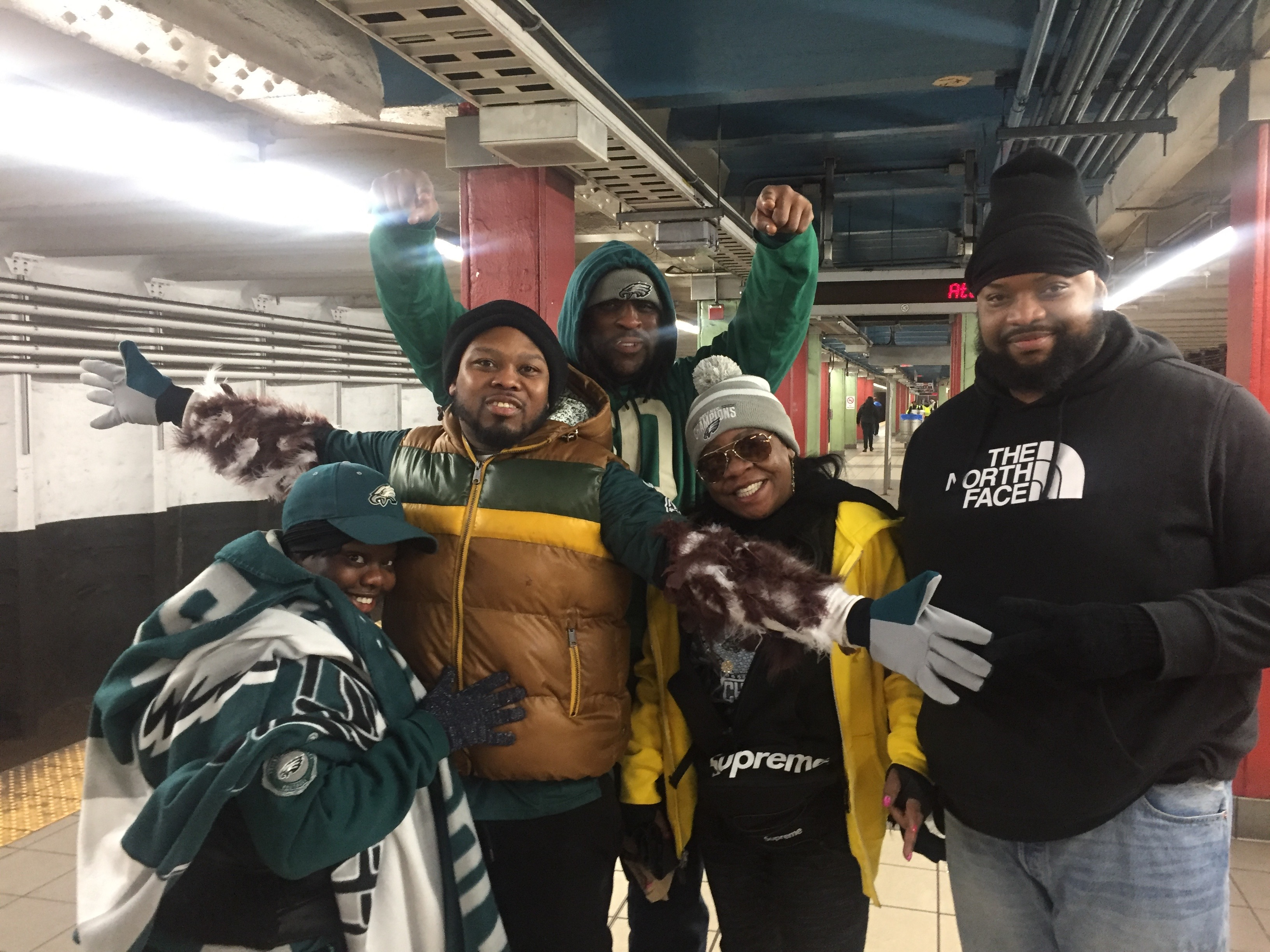 Eagles Fans from Trenton