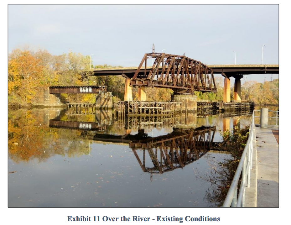 Existing Conditions of Schuylkill River Swing Bridge