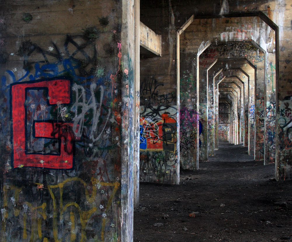 Graffiti Pier | Steve Ives, EOTS Flickr Group