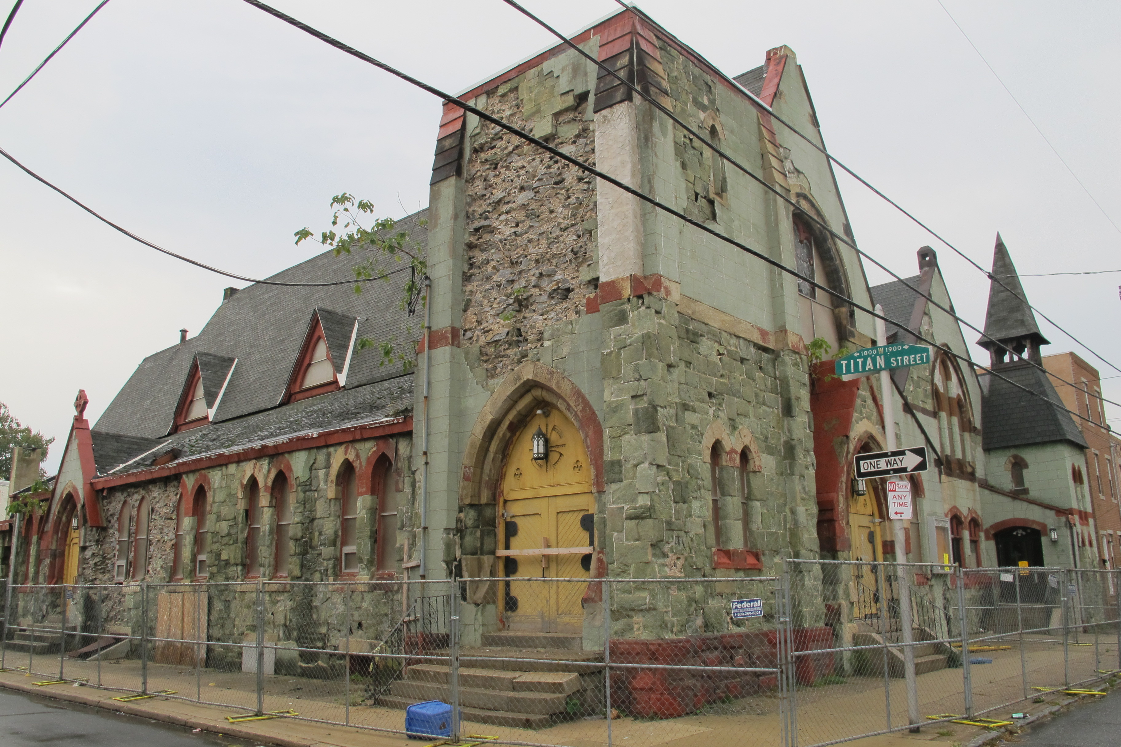 A demolition permit was filed for the 19th Street Baptist Church.