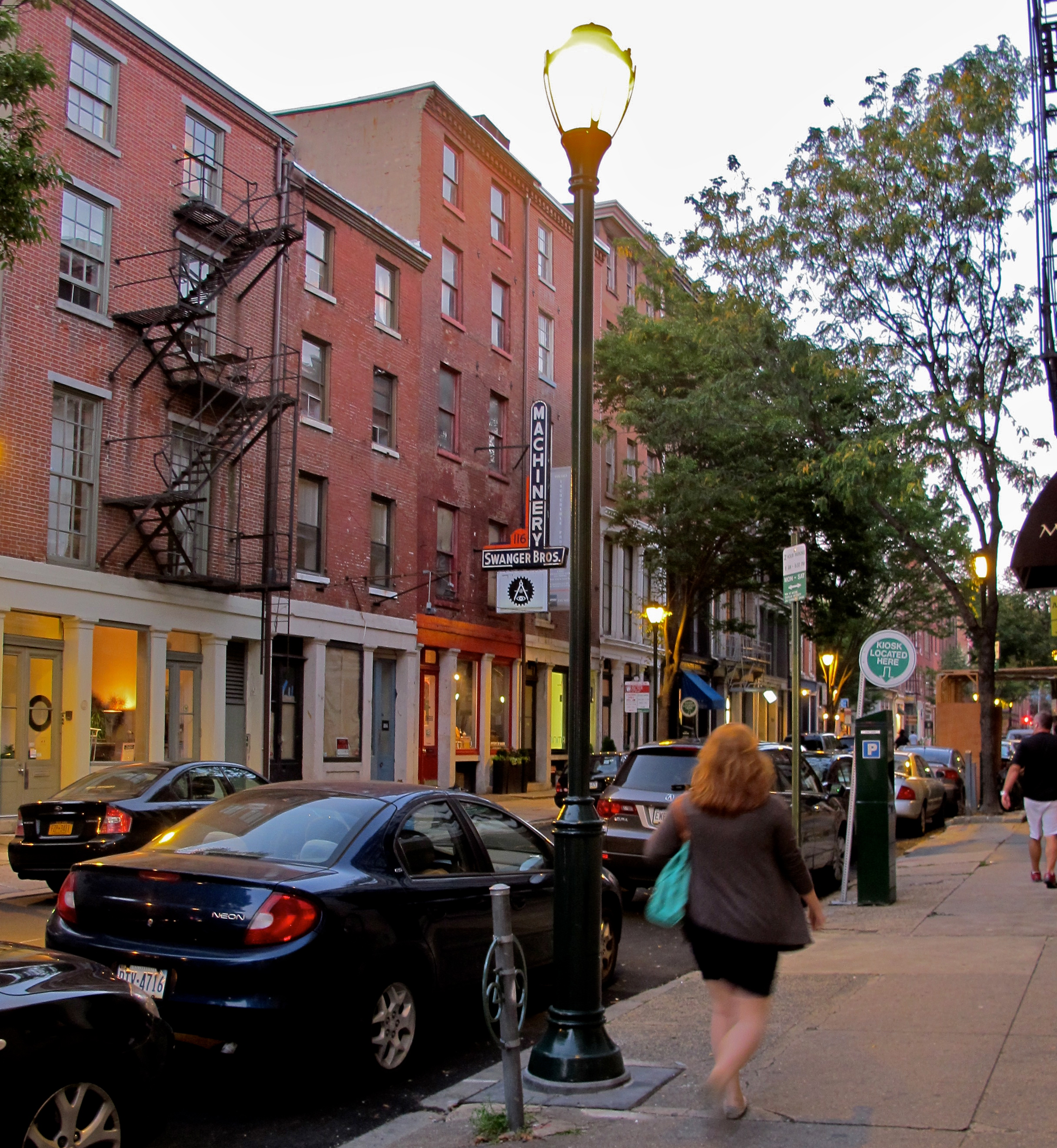 33 new pedestrian-scale street lights were recently installed along North 3rd Street in Old City.